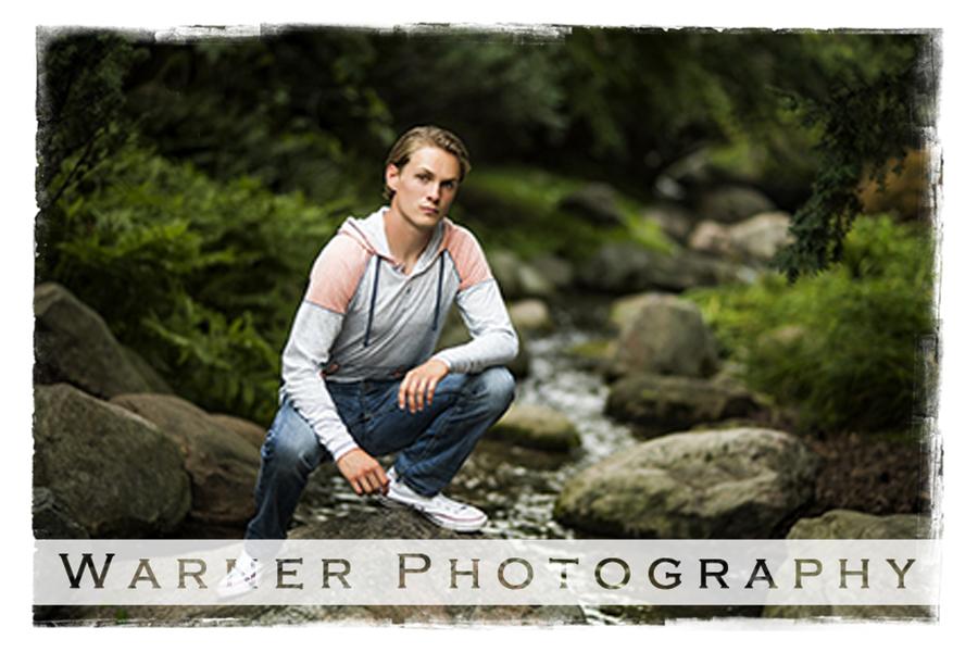 Tyler Senior Photo by Warner Photography in Midland Michigan
