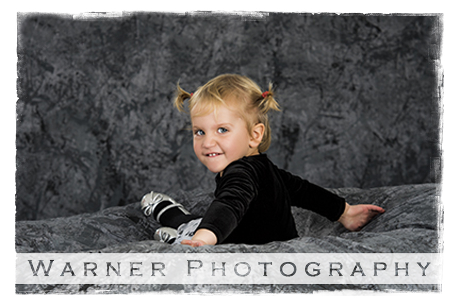 Haley Children's portrait by Warner Photography in Midland Michigan