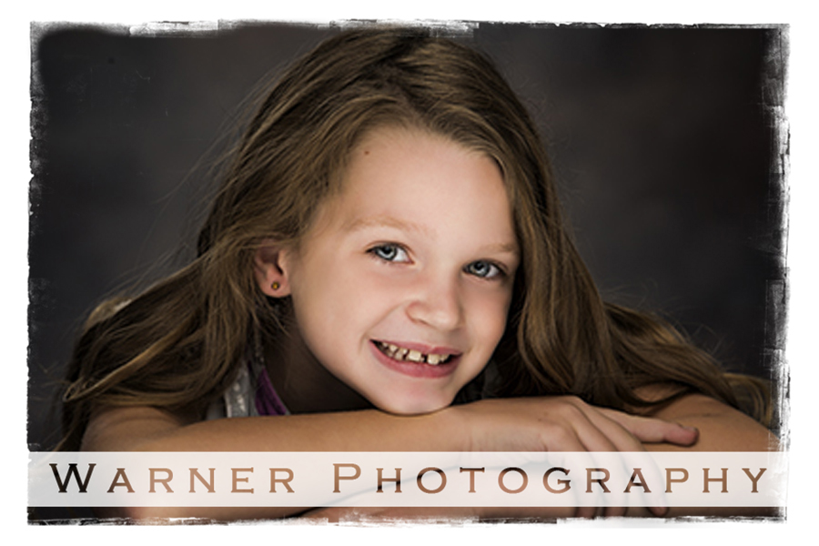 Grace Back to School Portraits by Warner Photography in Midland Michigan