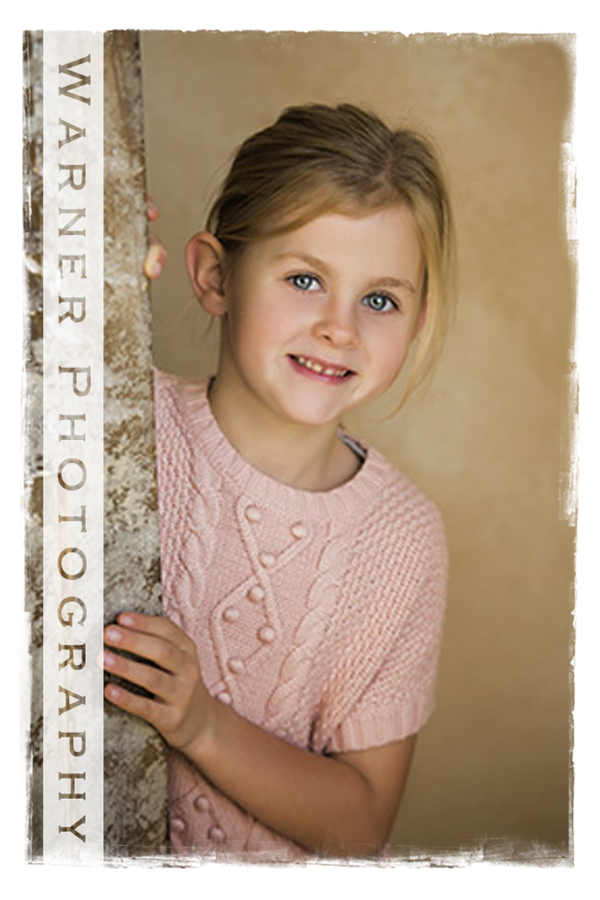 Sophie Back to School Portrait by Warner Photography in Midland Michigan