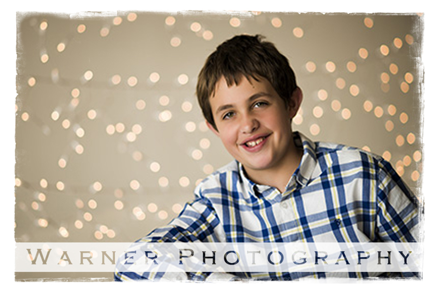 Noah Back to School Portrait by Warner Photography in Midland Michigan
