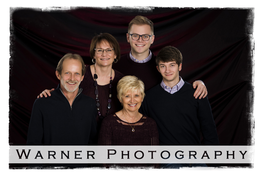 The Scott Family Photo by Warner Photography in Midland Michigan