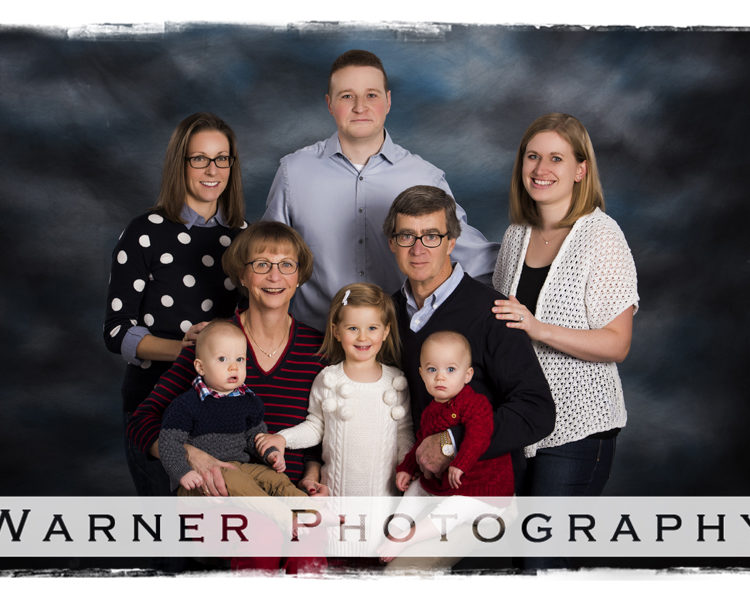 The Fazio Family photo by Warner Photography in Midland Michigan