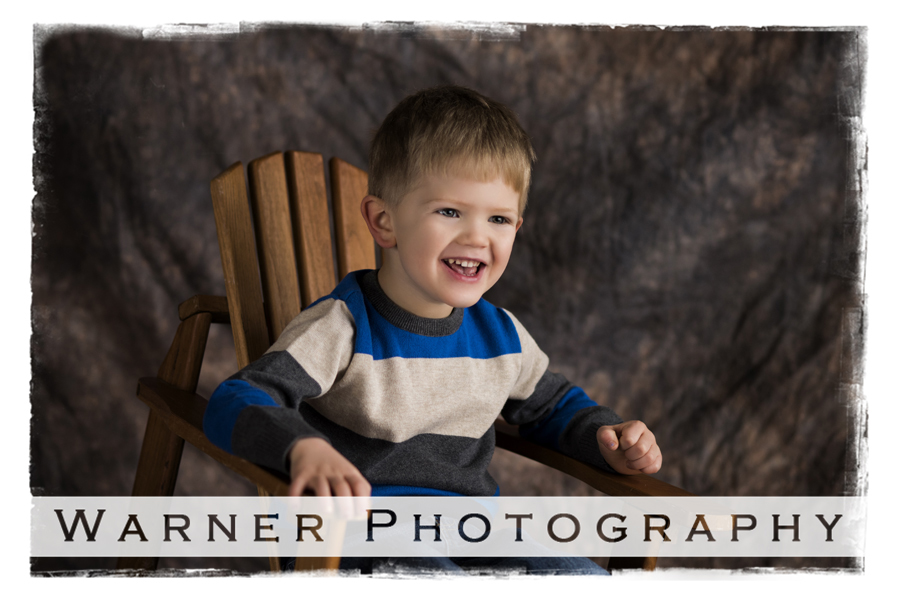 Calvin Birthday Club 4 year old photo by Warner Photography in Midland Michigan