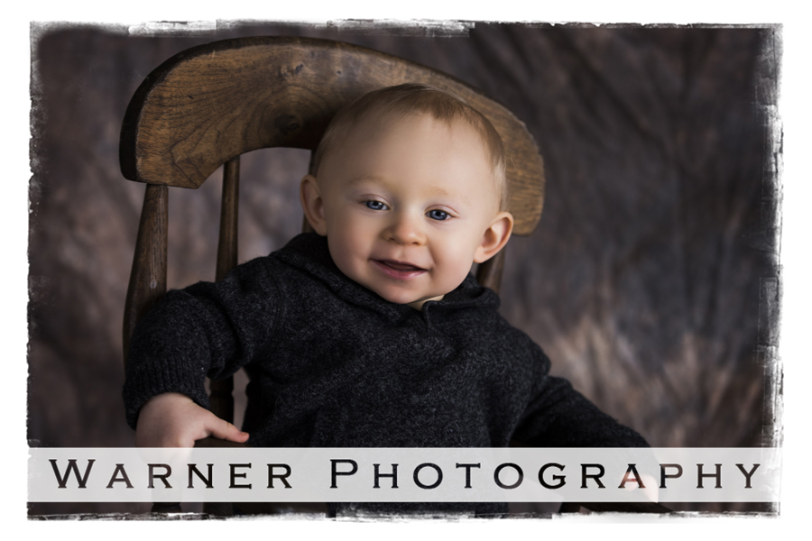 Jackson Year of Memories 9 month photo by Warner Photography in Midland Michigan