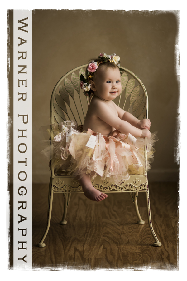 Evie Year of Memories photo by Warner Photography in Midland Michigan