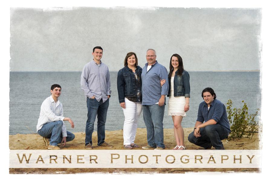Kramer Family photo by Warner Photography in Midland Michigan