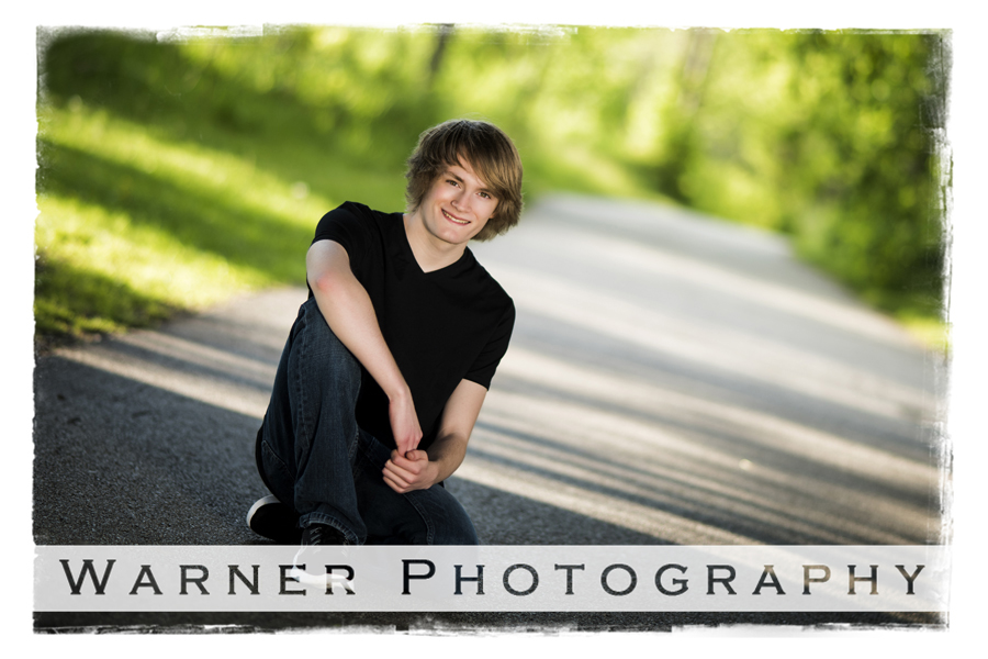 Matthew Senior photo by Warner Photography in Midland Michigan