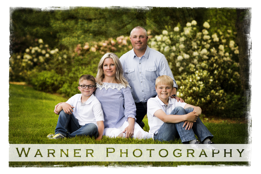 Armour Family photo by Warner Photography in Midland Michigan