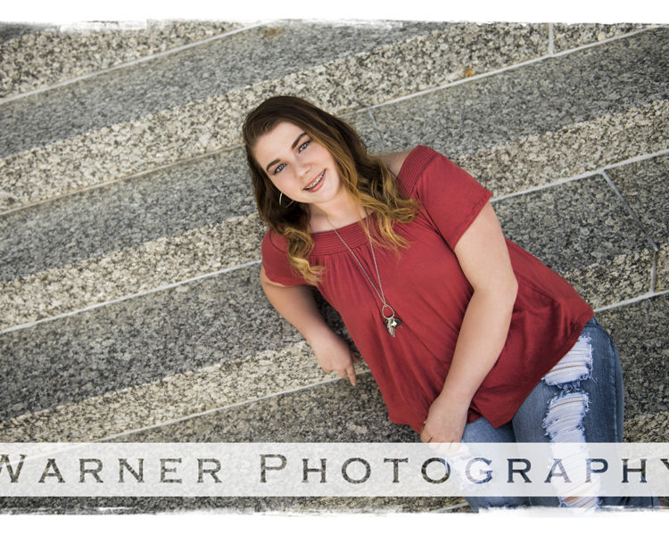 Olivia 2018 Senior photo by Warner Photography in Midland Michigan