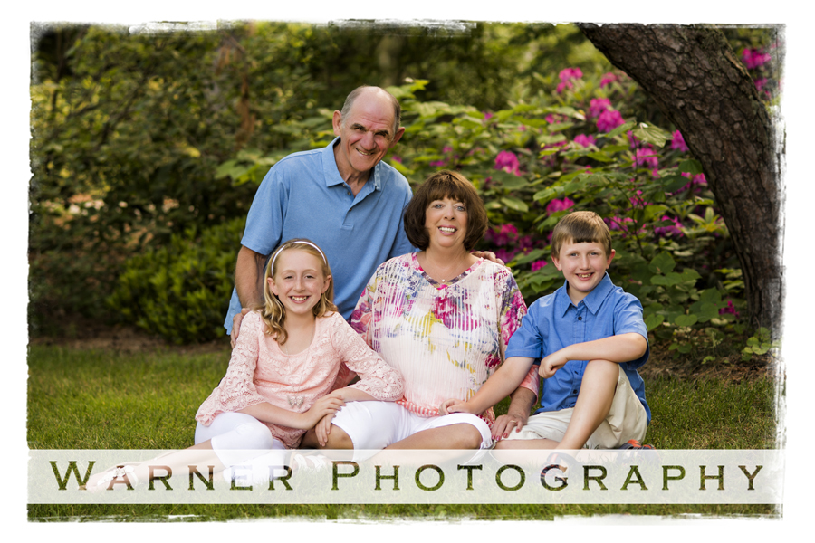 Marilyn and Bob Family photo by Warner Photography in Midland Michigan