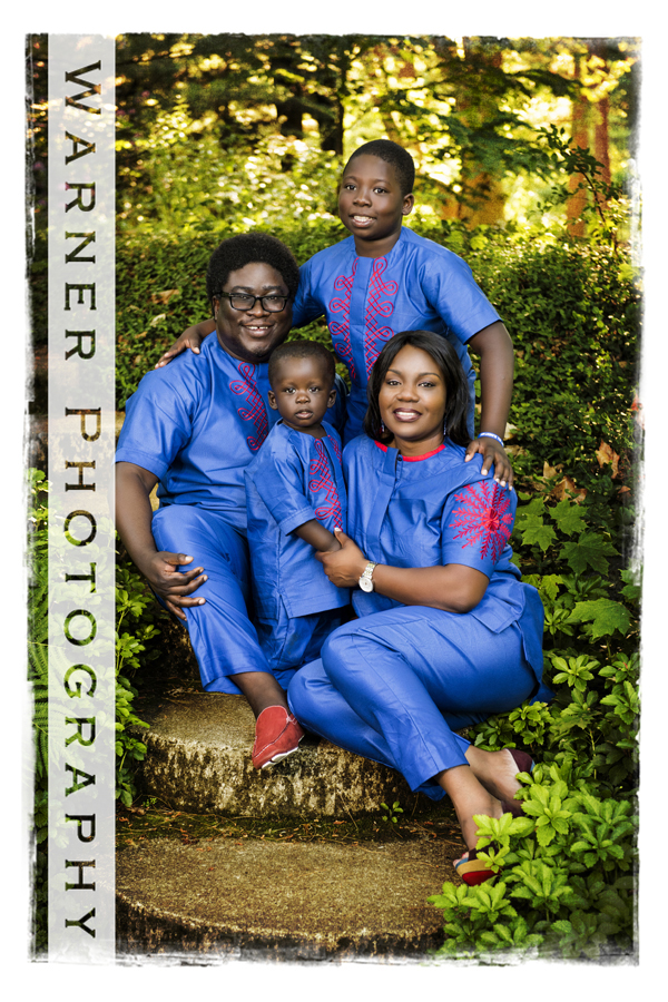 Esan Family photo by Warner Photography in Midland Michigan