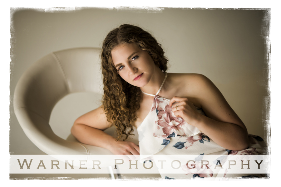 Darcie Senior photo by Warner Photography in Midland Michigan