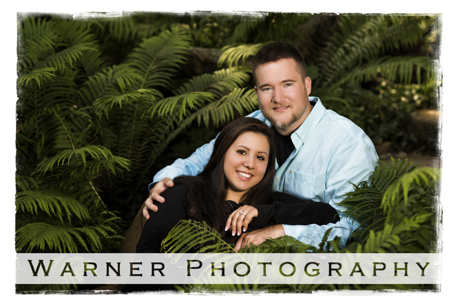 Alexis and Zachary engagement photo by Warner Photography in Midland Michigan
