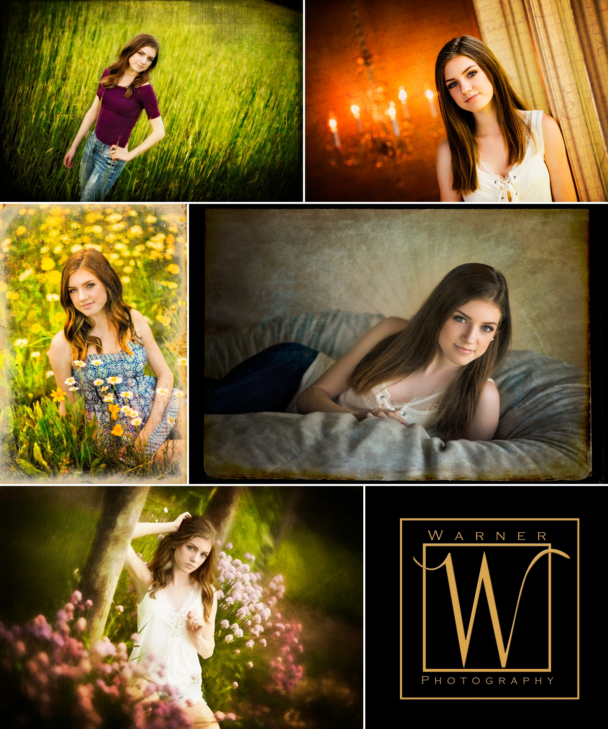 Brooklyn Senior Collage photos by Warner Photography in Midland Michigan