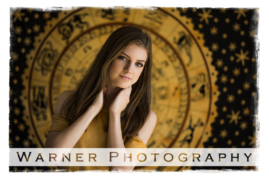 Brooklyn 2018 Senior photo by Warner Photography in Midland Micigan