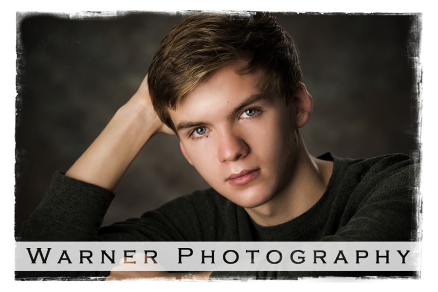 Adam Senior photo by Warner Photography in Midland Michigan
