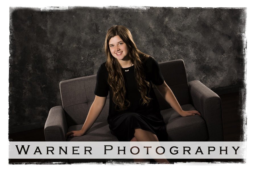 Sarah Senior photo by Warner Photography in Midland Michigan