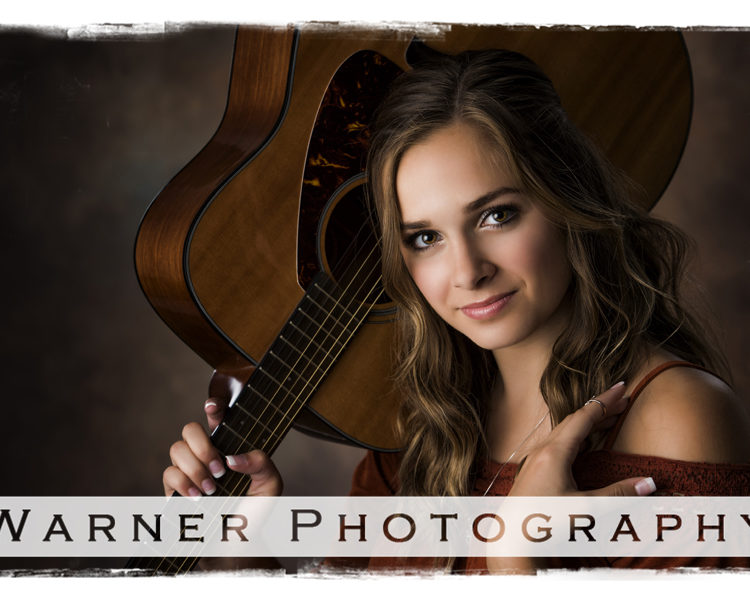 Anna Senior photo by Warner Photography in Midland Michigan