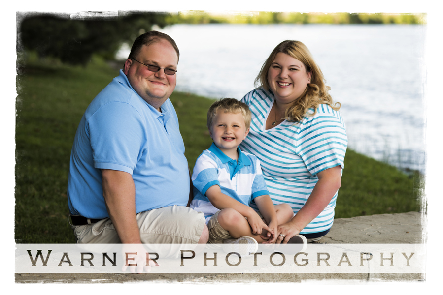Finley Family photo by Warner Photography in Midland Michigan