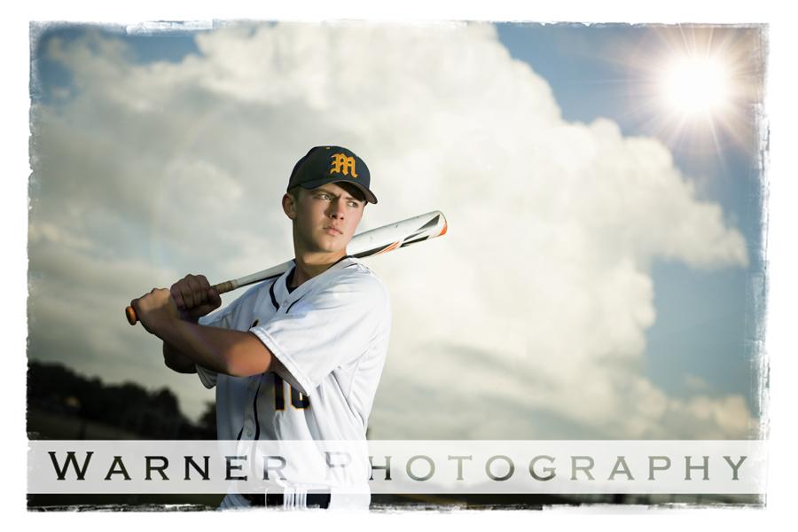 Ben Senior photo by Warner Photography in Midland Michigan