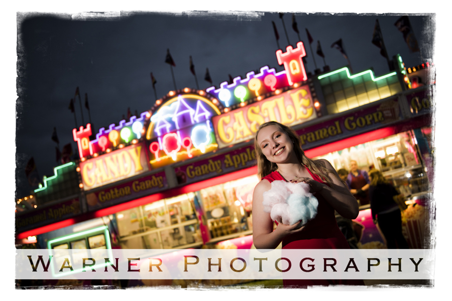Amanda Fair Nights Mini photo by Warner Photography in Midland Michigan