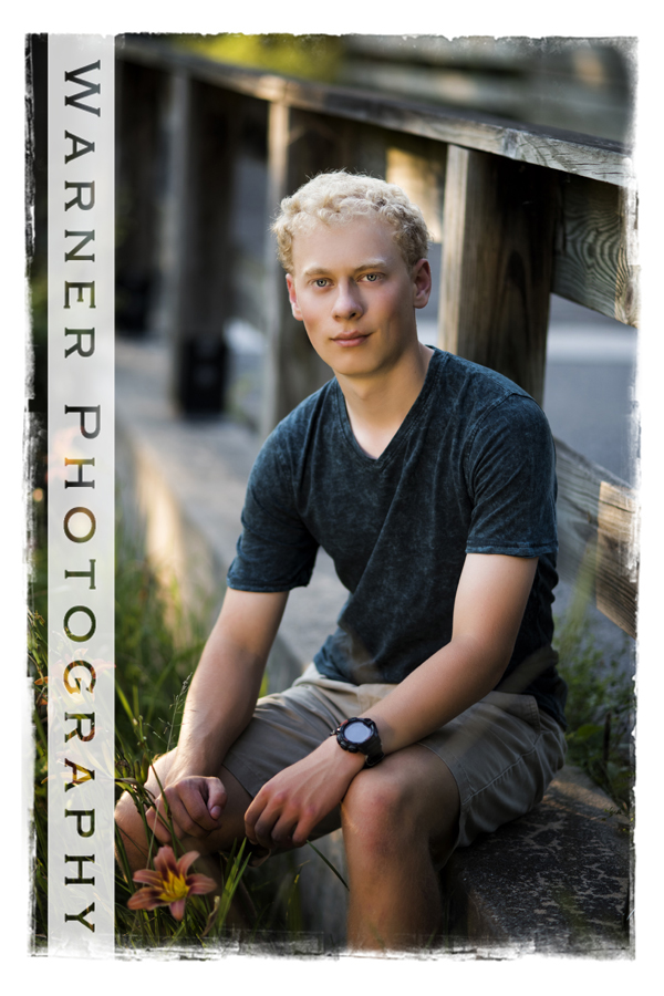 Alex Senior photo by Warner Photography in Midland Michigan