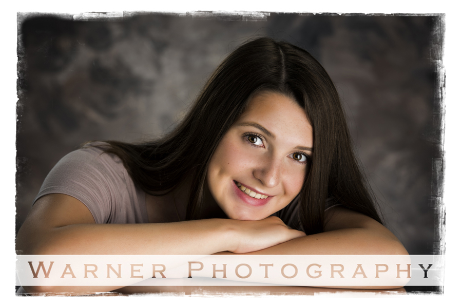 Samantha Back to School photo by Warner Photography in Midland Michigan