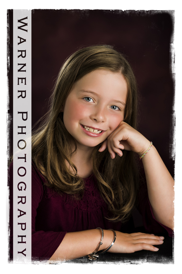 Jocelyn Back to School photo by Warner Photography in Midland Michigan