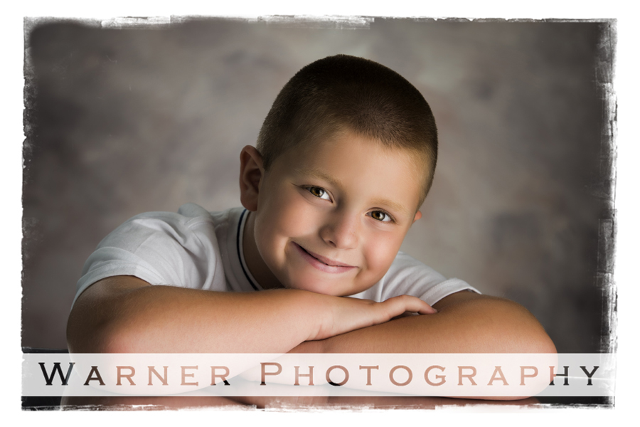 Landon Back to School photo by Warner Photography in Midland Michigan