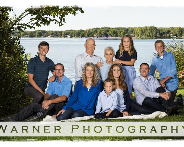 Baldwin Family photo by Warner Photography in Midland Michigan