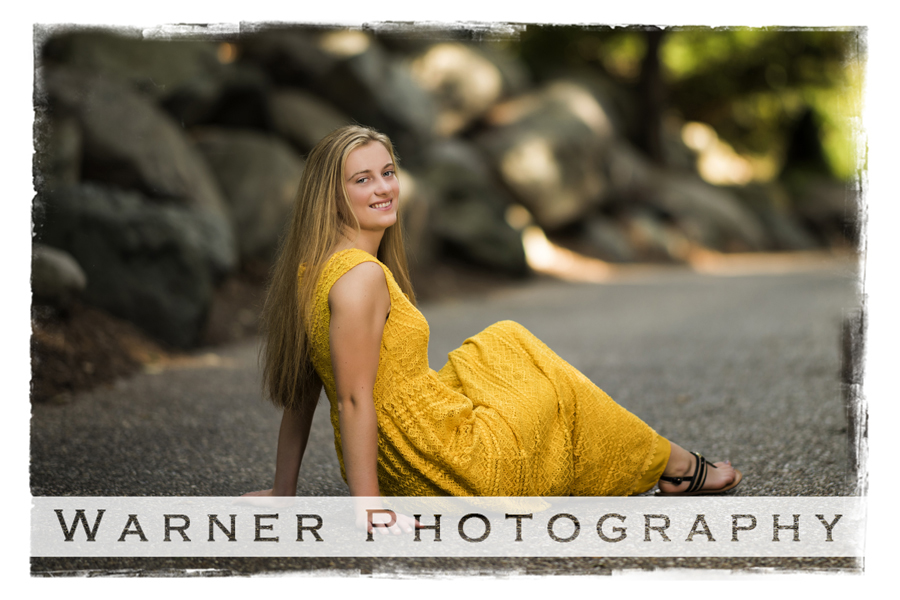 Melissa Senior photo by Warner Photography in Midland Michigan