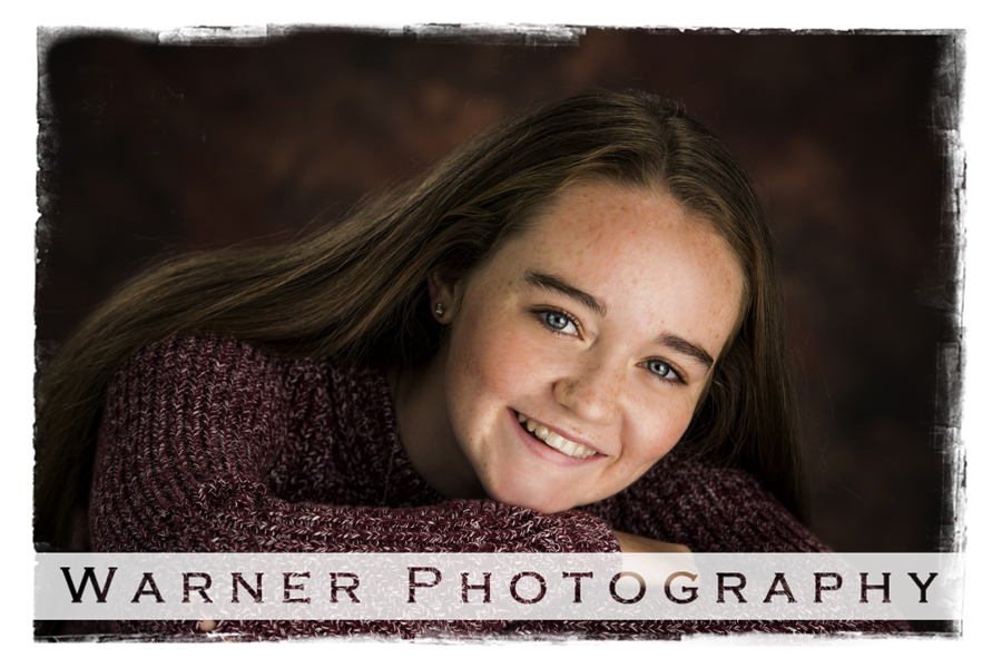 Sarah Back to School photo by Warner Photography in Midland Michigan