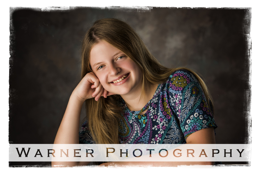 Kate Back to School photo by Warner Photography in Midland Michigan