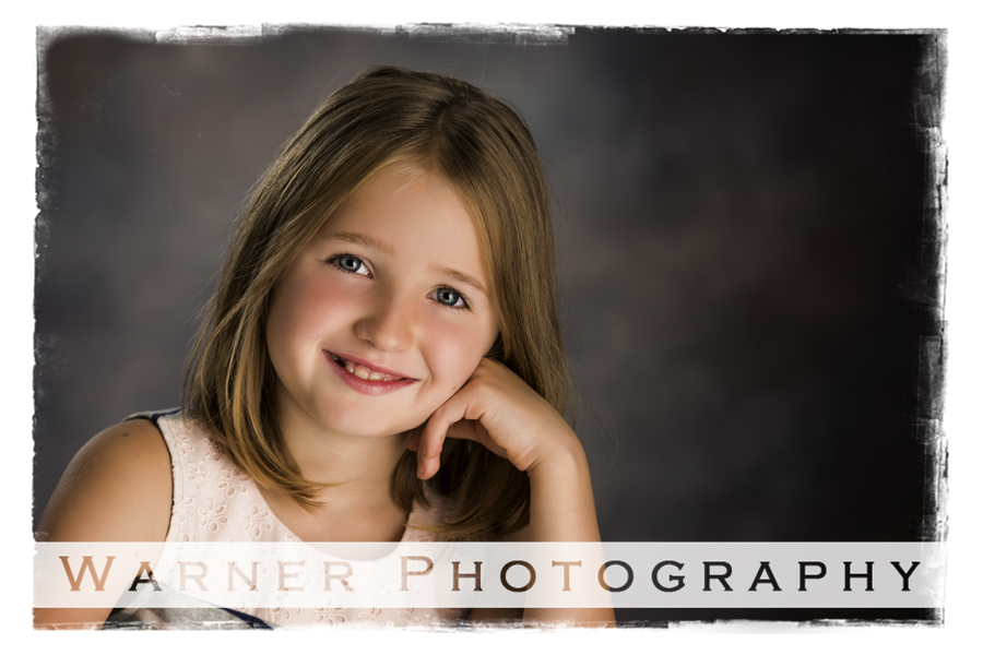 Hannah Back to School photo by Warner Photography in Midland Michigan