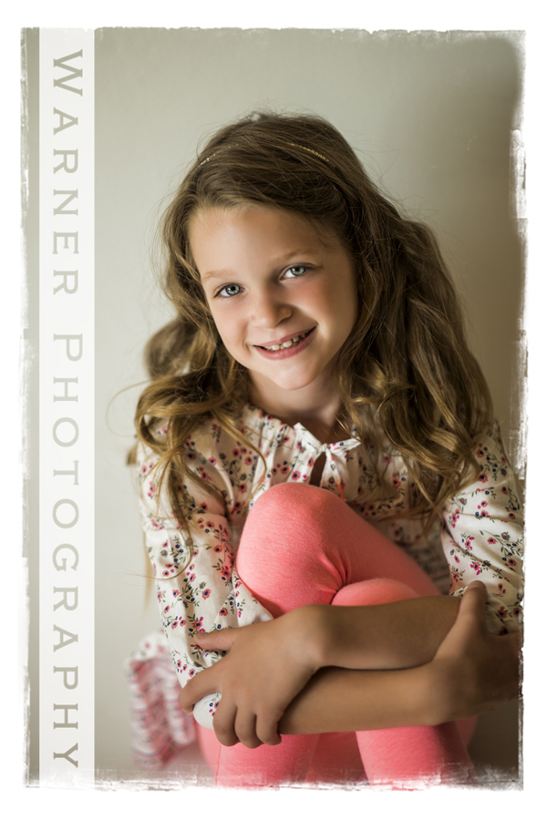 Claire Back to School photo by Warner Photography in Midland Michigan