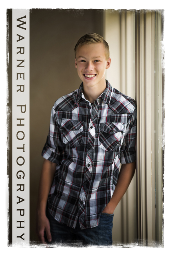 Matthew Back to School photo by Warner Photography in Midland Michigan