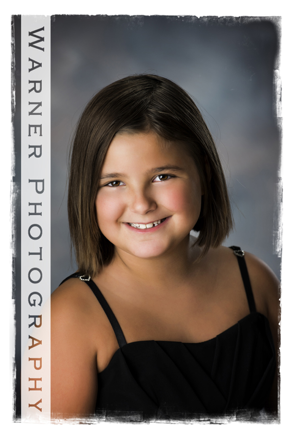 Emma Back to School photo by Warner Photography in Midland Michigan