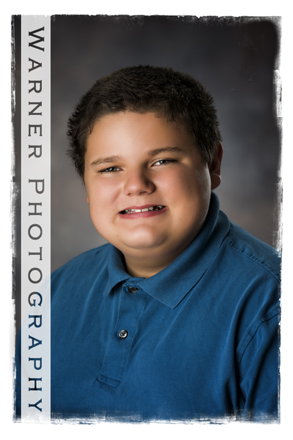 William Back to School Photo by Warner Photography in Midland Michigan