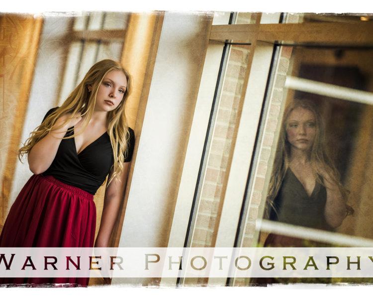Amanda Senior photo by Warner Photography in Midland Michigan