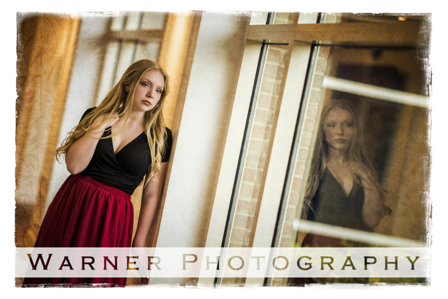Amanda Senior photo by Warner Photography in Midland Michigan