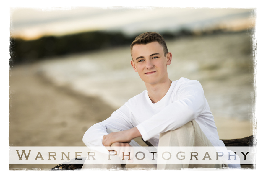 Braedon Senior Photo by Warner Photography in Midland Michigan