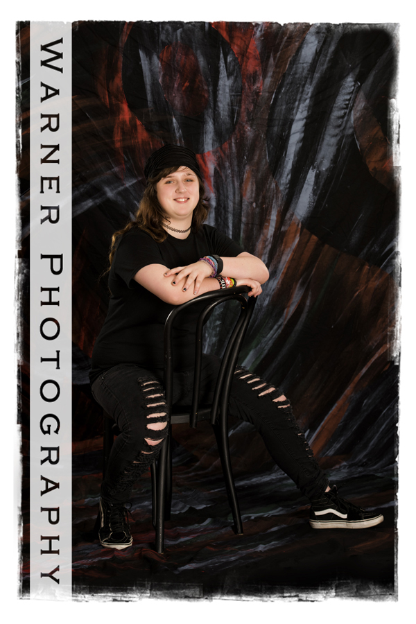 Hollie Senior photo by Warner Photography in Midland Michigan