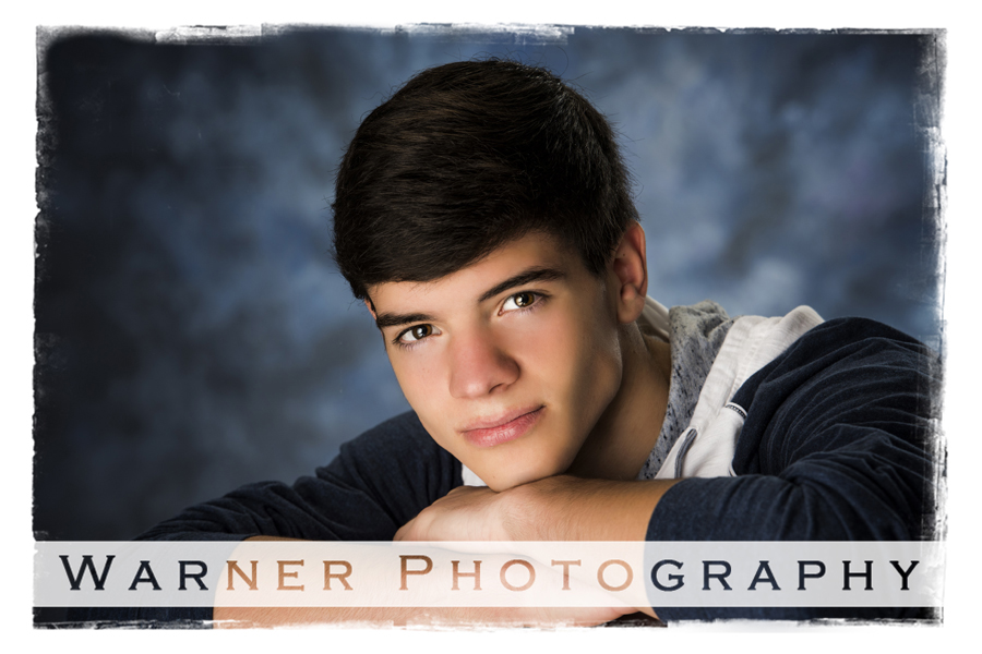 Jacob Back to School photo by Warner Photography in Midland Michigan