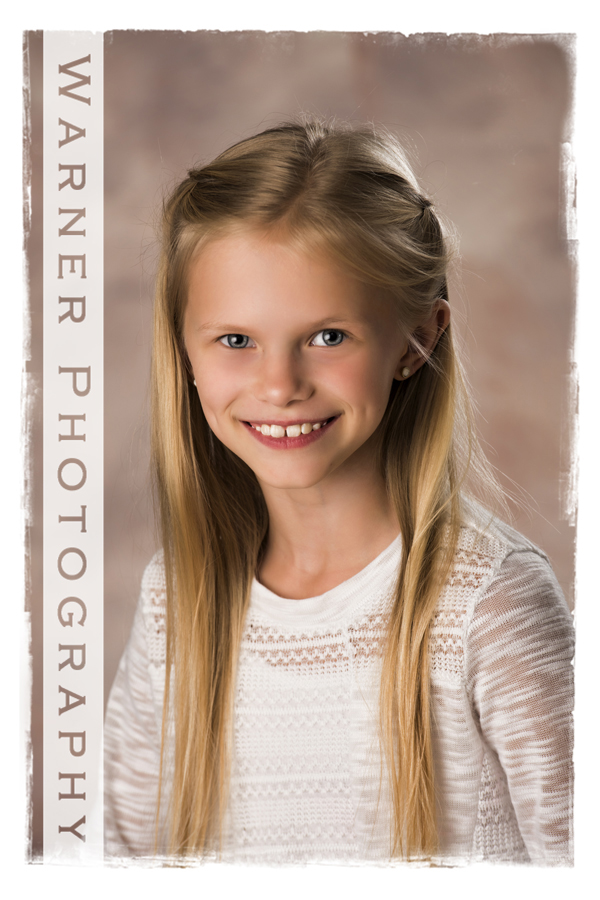 Allie Back to School photo by Warner Photography in Midland Michigan