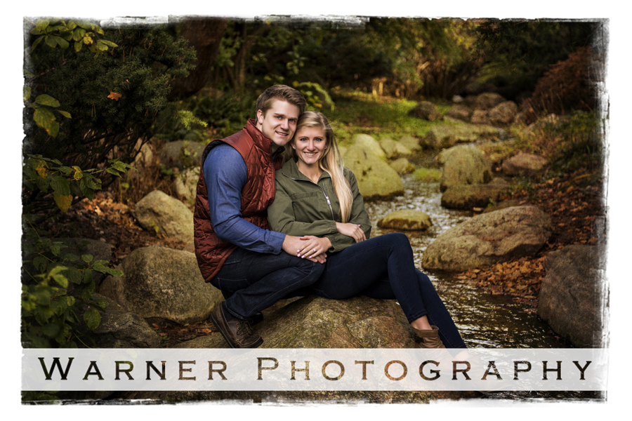 Lauren and Daniel Engagement photo by Warner Photography in Midland Michigan