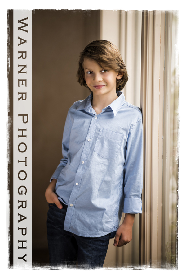 James Back to School photo by Warner Photography in Midland Michigan