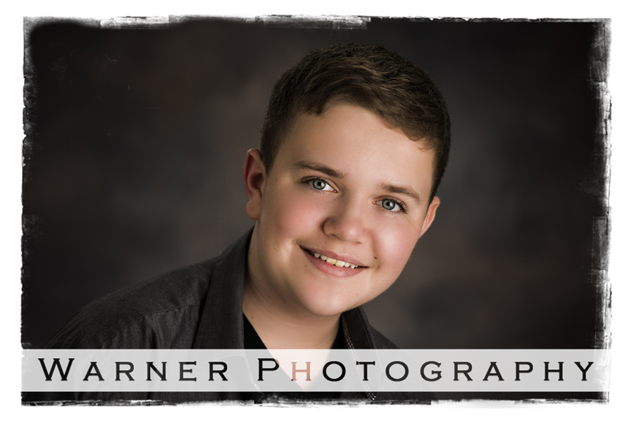 Josh Back to School photo by Warner Photography in Midland Michigan