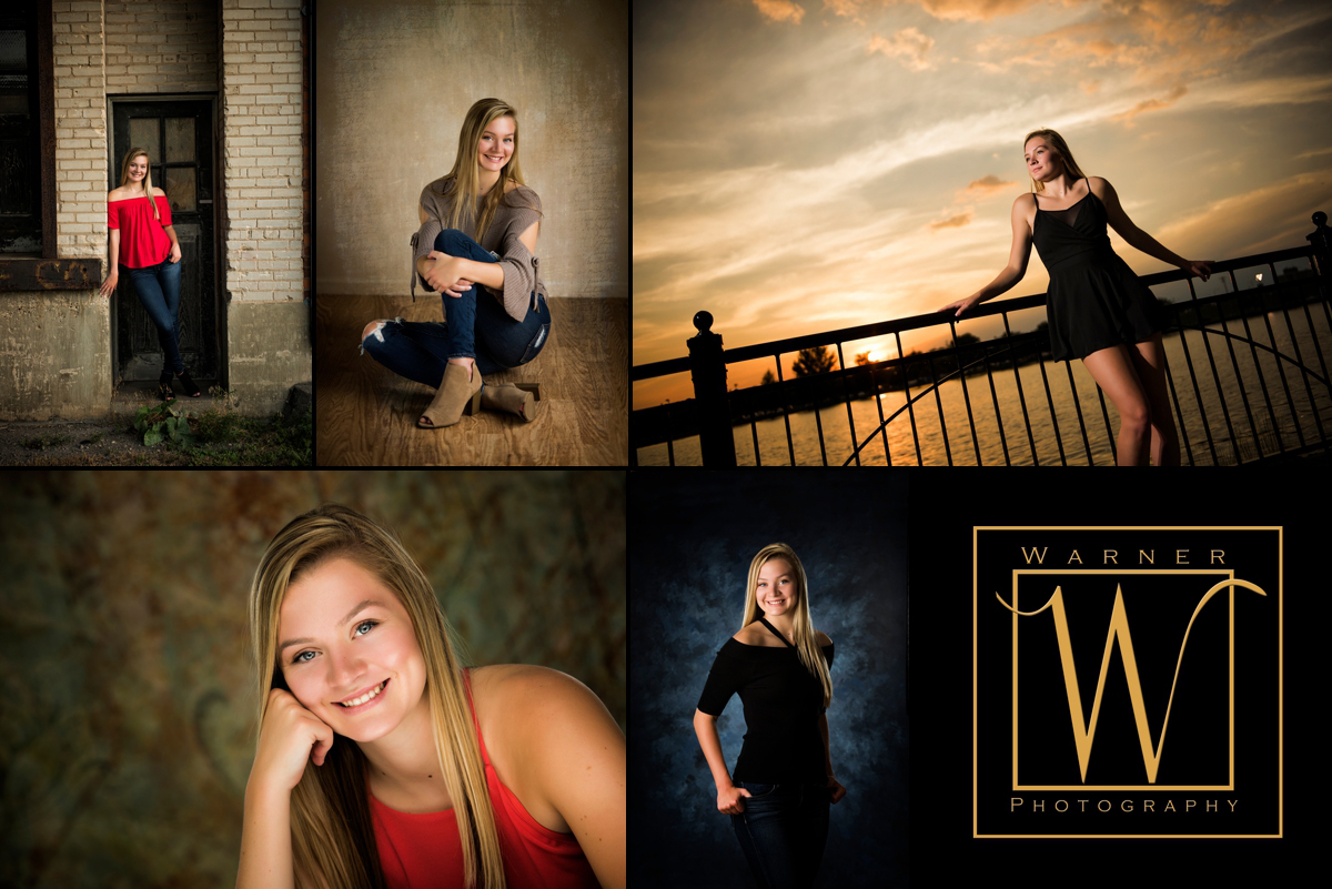 Maddie-senior-collage-Warner-photography-midland-michigan