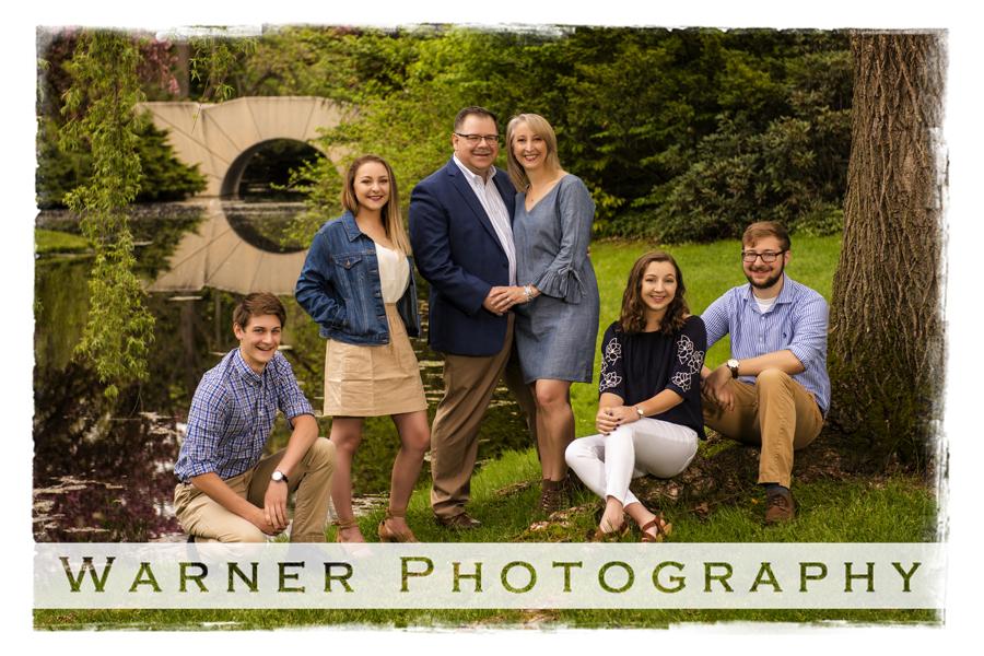 Lynch Family Portrait Dow Gardens
